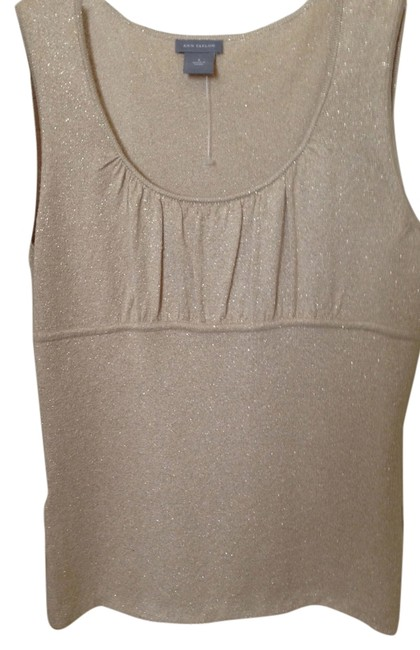 Preload https://item2.tradesy.com/images/ann-taylor-gold-metallic-sleeveless-knit-fabric-night-out-top-size-6-s-5713876-0-0.jpg?width=400&height=650