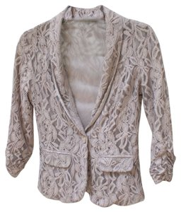 Charlotte Russe neutral rose Blazer