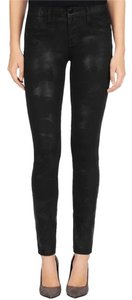 J Brand High Waisted Skinny Jeans-Dark Rinse
