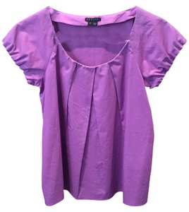 Theory Cap Sleeve Top Purple