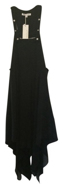 Item - Black Flowy Knee Length Short Casual Dress Size 6 (S)