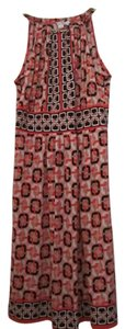 Donna Morgan short dress Pink Black & White on Tradesy
