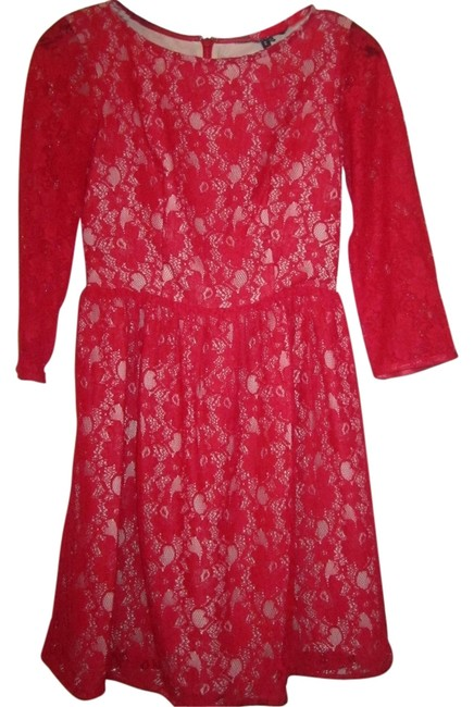 Preload https://item3.tradesy.com/images/french-connection-dress-red-5715232-0-0.jpg?width=400&height=650