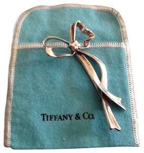 Tiffany & Co. Tiffany & Co. Vintage Sterling Silver Bow Pin