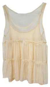 American Eagle Outfitters Top cream