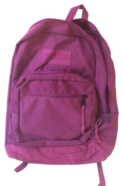 Item - Right Pack Monochrome Purple Canvas Backpack
