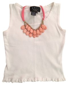 Fau Top White