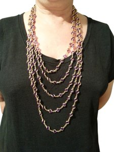 Joel Powell JOEL POWELL Runway Multi-Chain & Caged Bead Necklace