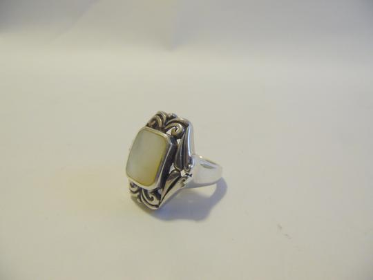 Other .925 Sterling Silver Mother of Pearl Gemstone Ring size 7