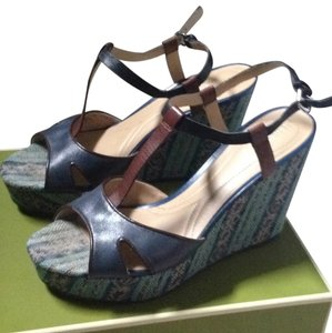 Naturalizer Blue Wedges