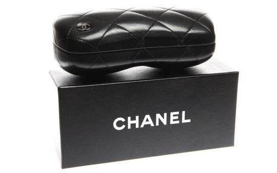 Chanel 5280 Bow Square Charms Patent Leather CC Logo Oversized Classic Ribbon