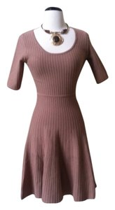 BCBGMAXAZRIA short dress Mocha on Tradesy