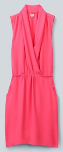 Wilfred short dress Bright Coral Pink on Tradesy