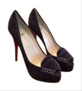 Christian Louboutin Dark Gray Pumps