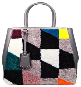 Fendi Tote in Gray - Multicolored