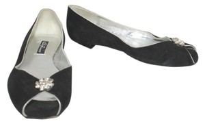 LOLA GUINESS Guinness Suede BLACK Flats