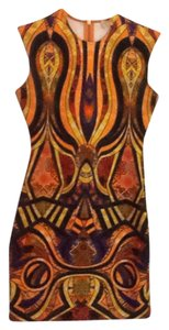 Torn by Ronny Kobo short dress multi jeweled hues on Tradesy