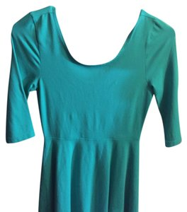 Express short dress Turquoise on Tradesy
