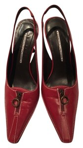 Donald J. Pliner Red Pumps