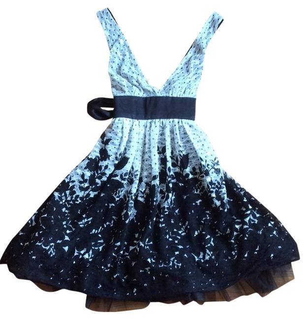 Forever 21 Lace Floral Ribbon Dress