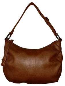 Coach 293 Ali Leather Ali Pouch Leather Hobo Bag