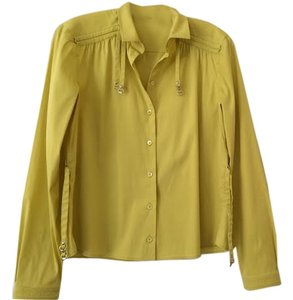 Gucci Button Down Shirt Yellow