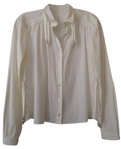 Gucci Button Down Shirt White