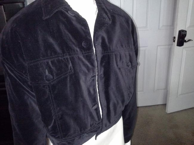 Esprit Velvet Warm Motorcycle Style Waist Coat Motorcycle Jacket