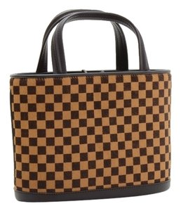 Louis Vuitton Impala Handbag Satchel in Brown