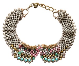 Anthropologie Sparked Agate Collar Bib Necklace By Pam Hiran for Anthropologie
