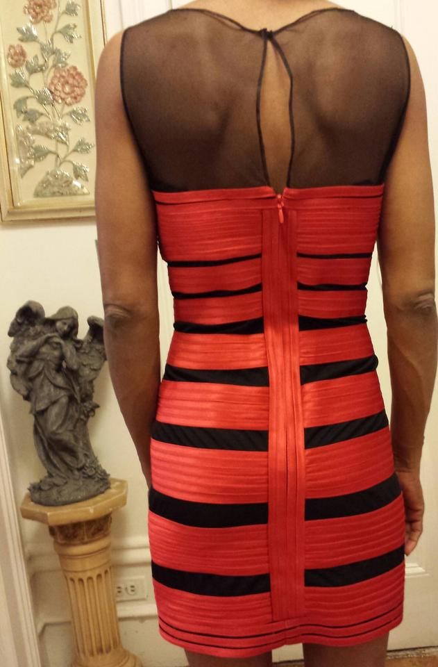 Dress Red BCBGMAXAZRIA Night Sku567 Out qwU4v1xZ