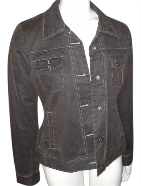 Natural Reflections Distressed Motorcycle Jacket