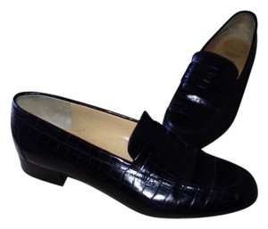 Galo Loafers Classic Black Flats