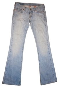 Lucky Brand Denim Low-rise Boot Cut Jeans-Distressed