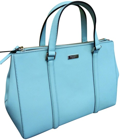 Preload https://img-static.tradesy.com/item/5721319/kate-spade-newbury-lane-medium-loden-msrp-blue-leather-satchel-0-3-540-540.jpg