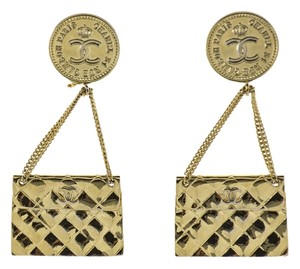 Chanel Chanel Vintage Handbag Earrings