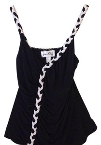 Joseph Ribkoff Top Black, white