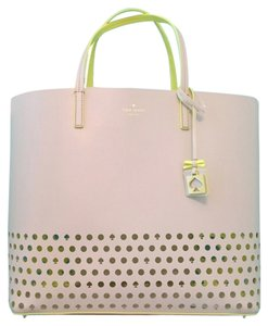 Kate Spade Sale Discount Tote in Beige, yellow