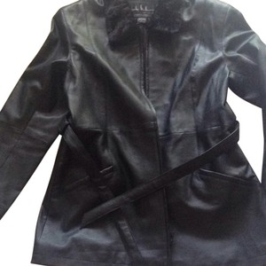 Nicole Miller Leather Jacket