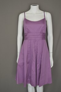 David's Bridal Purple F14138 Dress