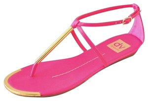 Dolce Vita Hot Pink Sandals