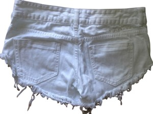 Billabong Shorts White fringe