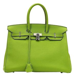Herms Birkin Hermes Satchel in Green