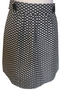 Tibi Skirt Black/white