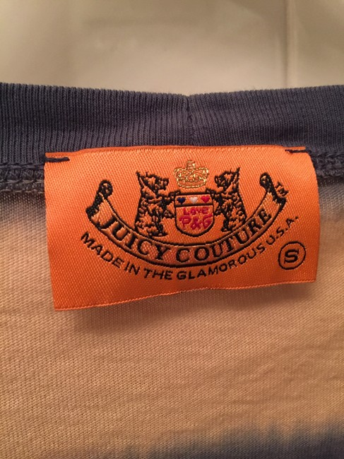 Juicy Couture T Shirt Blue/Tan