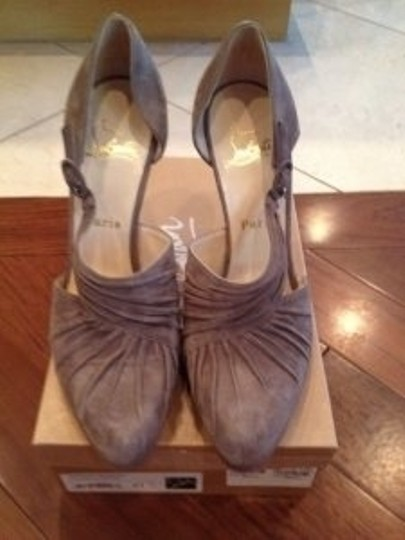 Christian Louboutin Medium Grey Pumps