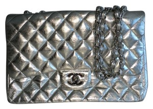 Chanel Jumbo Leather Classic Shoulder Bag