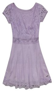 Abercrombie & Fitch short dress Light Purple on Tradesy