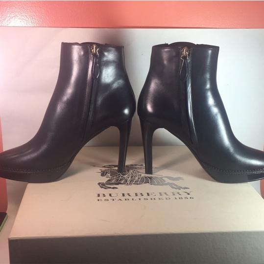 Burberry Lysterfield Sale Checkered Black Boots