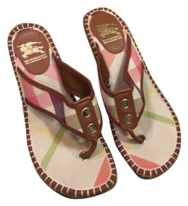 Burberry Pastel Wedges